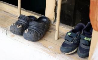 3 yaşındaki Atakan'dan geriye ayakkabıları kaldı