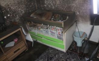 4 yaşındaki çocuk yangında hayatını kaybetti