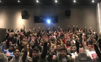 AB Bilgi Merkezindeki İnsan Hatları Film günlerine yoğun ilgi