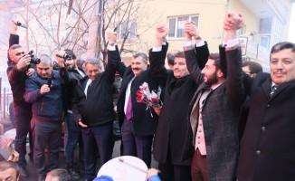AK Parti Aksaray Belediye Başkan adayı Dinçer törenle karşılandı