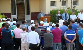 Aksaray'da 152 işçiye 132 bin lira ikramiye verildi