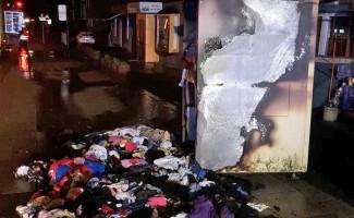 Almanya'da cami yakınındaki yangına cemaat müdahale etti