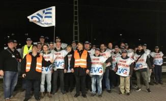 Almanya'da demiryollarında uyarı grevi başladı