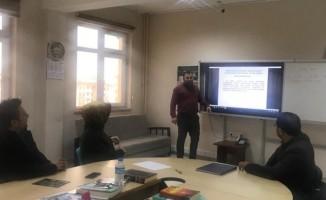 Altıntaş'ta Yönetici Gelişim Planı (YÖGEP) toplantısı düzenlendi