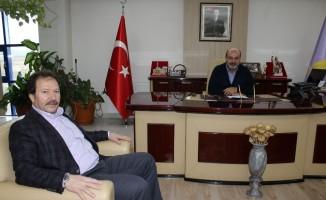 Ankaragücü Kulüp Başkanı ve Ankara ESOB Başkanı Mehmet Yiğiner'den Konak'a ziyaret