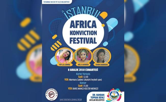 Avcılar'da Afrika Festivali