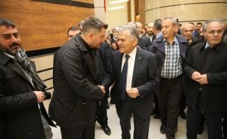 Başkan Büyükkılıç  tebriklere teşekkür etti