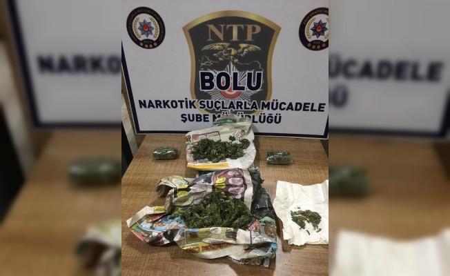 Bolu'da, uyuşturucu operasyonunda 2 kişi tutuklandı