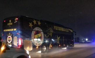 Bursa'da Fenerbahçe'ye yoğun güvenlik önlemi