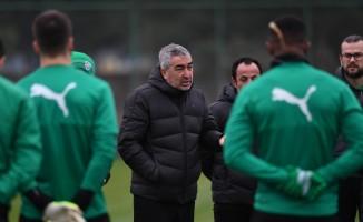 Bursaspor, Göztepe maçının hazırlıklarına başladı