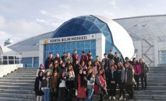 Ereğli Belediyesinin Bilim Merkezi gezileri devam ediyor