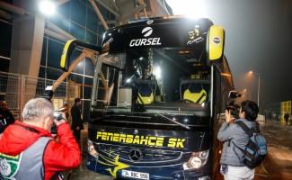 Fenerbahçe, kara yoluyla İstanbul'a hareket etti