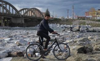 Gaziantepli bisikletli gezgin üçüncü Türkiye turunda