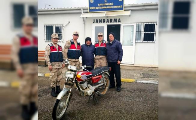 Gaziantep'ten çalınan motosiklet Kilis'te yakalandı