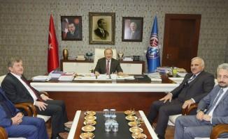 Gümrükçüoğlu ve Zorluoğlu istişare için bir araya geldi