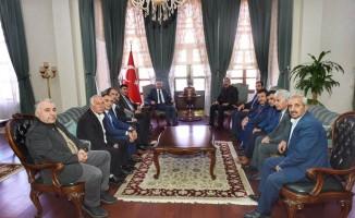 İl Genel Meclisinden Vali Soytürk'e ziyaret
