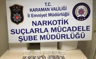 Karaman'da uyuşturucu hap operasyonu: 1 tutuklama