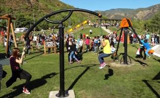 Marmaris'te macera parkını bir ayda 60 bin kişi ziyaret etti