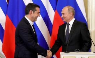 Putin'den Çipras'a cevap! 'Buna Erdoğan karar verir'