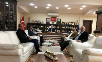 SUBU Rektöründen Başkan Dişli'ye iade-i ziyaret