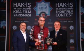 Tokat'ta çekilen kısa filme ödül