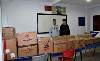 Turhal'da ihtiyaç sahipleri için elbise toplama kampanyası