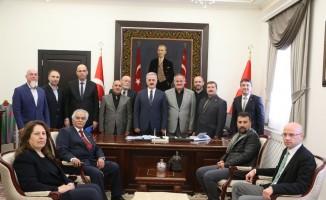 Vali Seymenoğlu'na 10 Aralık ziyareti