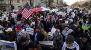 Washington'da Kudüs protestosu