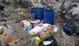 Bingöl'de PKK'ya Ait 4 Sığınak Bulundu