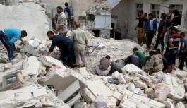 Halep'e 150 hava saldırısı düzenlendi