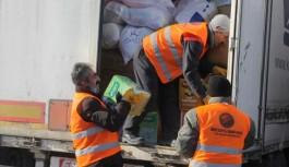 İzmir'den Haleplilere yardım