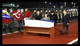 Karlov'un naaşını Çavuşoğlu ile Lavrov birlikte karşıladı