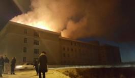 Okulda korkutan yangın!