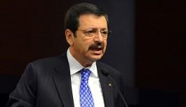 """TOBB Başkanı Hisarcıklıoğlu """"Ekonomimiz güçlü biçimde ayakta"""""""