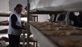 Türkiye Cerablus'ta ekmek fırını açtı