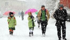 19 ilde okullara kar tatili