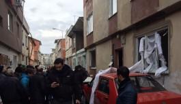 Bursa'da doğalgaz patlaması!