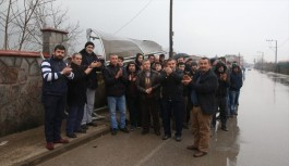 Bursa'da firari sürücüyü protesto ettiler!