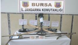Bursa'da SİT alanında kaçak kazı