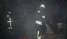Bursa'da yangın paniği