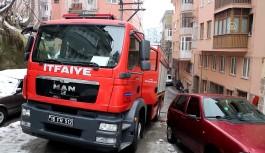 Bursa Osmangazi'de ev yangını!