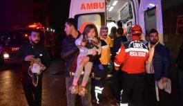Bursa Yıldırım'da bina kundaklandı