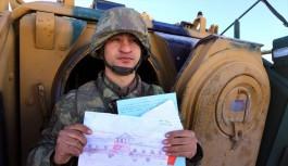 Bursalı öğrencilerden Mehmetçik'e mektup