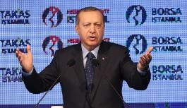 Cumhurbaşkanı Erdoğan'dan ekonomiye dair açıklamalar
