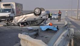 İnegöl'de trafik ve iş kazalarında korkutan artış