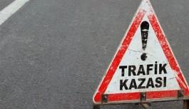 Manavgat'ta trafik kazası sonucu 5 kişi yaralandı