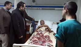 Oğlunun şehit haberini hasta yatağında aldı