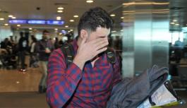 Suriye uyruklu Nail Zain uçağa alınmadı