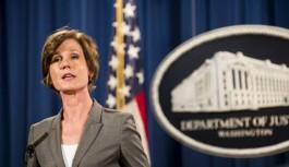 Trump Adalet Bakanı'nı görevden aldı