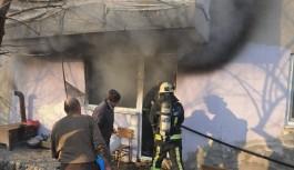 Bursa'da çocukların çakmakla oyunu yangın çıkardı